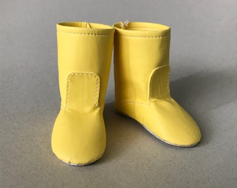 "Pre Order: ""Gumboots"" boots for Minifee doll; BJD shoes by Summomo"