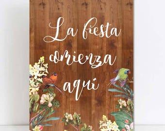 Wooden poster wedding, flowers, weddings, wedding.