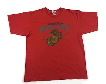 USMC T-Shirt (Sz ) Marine Corp Shirt
