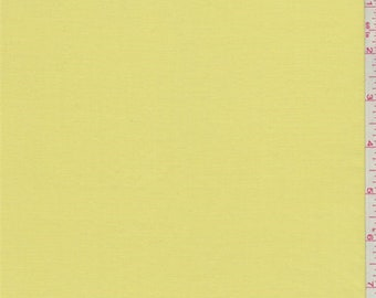 Bright Lemon Rayon Shirting, Fabric By The Yard