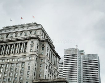 Sun Life Building + Place Ville Marie - Montréal - Fine Art Print - Photograph - Wall Art - Decor