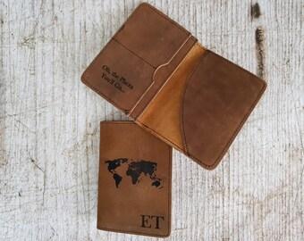 Engraved Passport Holder, Personalized Passport Cover, Passport cover, Leather Passport holder, Passport wallet, Passport Cover Personalized
