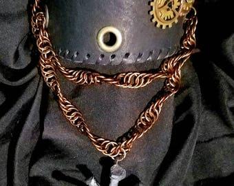 Deiselpunk Leather Armband