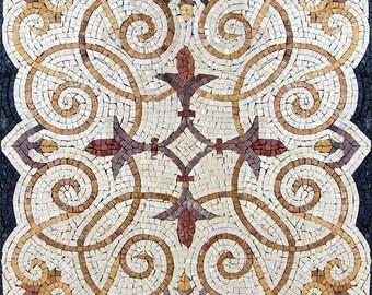 Square Mosaic - Lis de Jardin