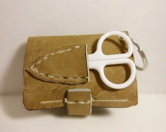 Leather Keychain Sewing Kit