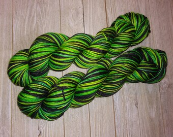 Wicked Self-Striping Sock Yarn
