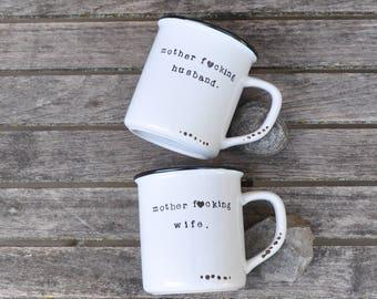 Newlywed gift wedding gift engagement gift anniversary gift housewarming gift bridal shower gift personalized gift for couple wedding mugs