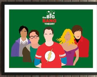 The Big Bang Theory Main Characters