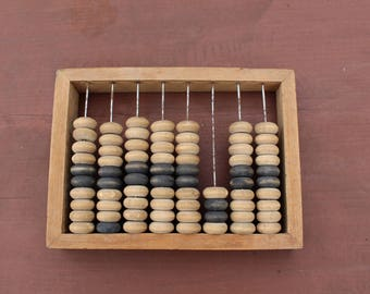 Abacus Vintage abacus Small Soviet abacus Wooden abacus