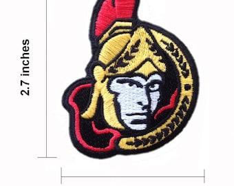 Ottawa Senators Embroidered Iron On Patch.