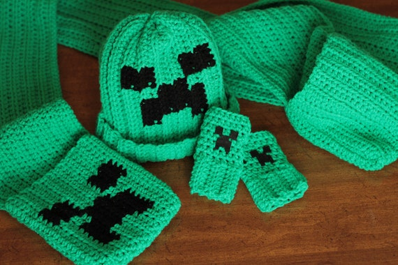 Minecraft Creeper Crochet Pattern Pack