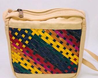 Vintage colorful purse