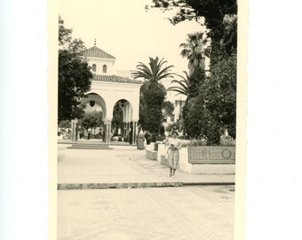 Vintage photo - Morocco Tetouan - Original Vintage Photos from PhotoTrouvee - 1950s found photo