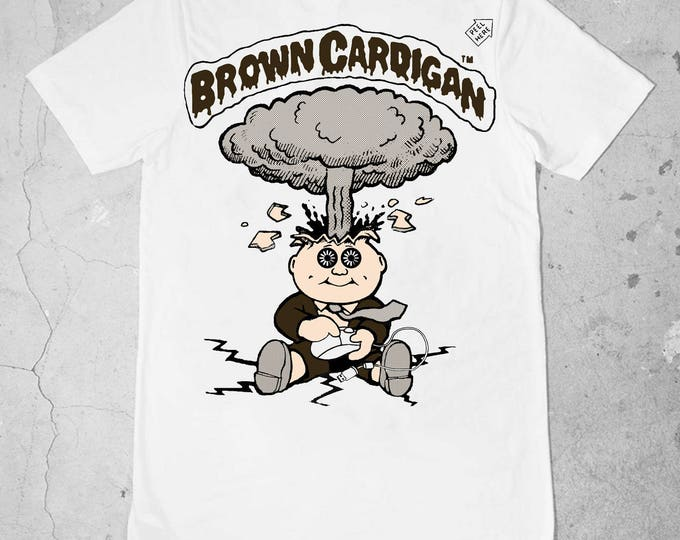 Brown Cardigan X Masons Of Kenya GPK T Shirt