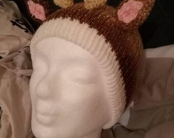 Glitter Roe Hat