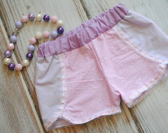 Tangled Rapunzel Inspired Shorts  - Coachella Shorts - Rapunzel Inspired Outfit - Tangled Outfit - Rapunzel Birthday Outfit