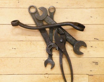 Four Rare Antique Wrenches