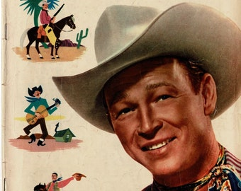 Roy Rogers - # 56 - 1952 - color comic