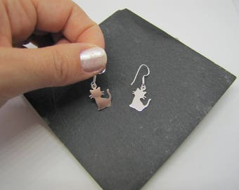Cat - Creation of chip earrings