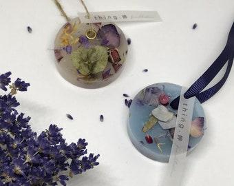Mini Wax Sachet | Botanical Wax Tablet | Handmade Gifts | Scented Gifts | Home Decor
