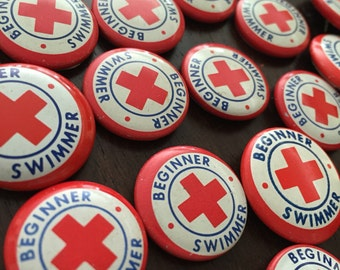 Beginner Swimmer Button