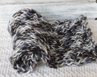 bump blanket,mini blanket,knitted basket filler, Variegated yarn