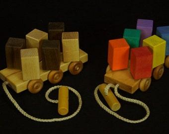 Wooden Spinning Blocks