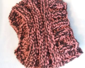 Messy bun stocking cap