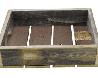 "R & W 12"" x 4"" x 15.5"" Vintage Reproduction Wooden Box"