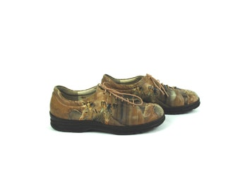 Zebra Themed Casual Lace Up Shoes by Icon || Zoo Shoes || Zoologist