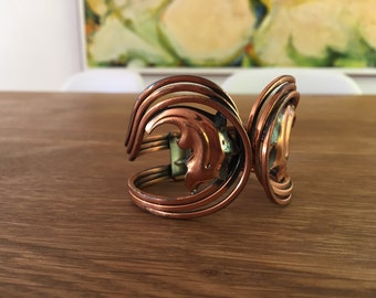 Rame Copper clamp bracelet