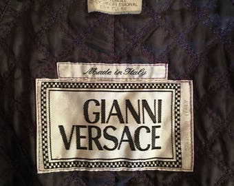 Vintage Gianni Versace Trench Coat