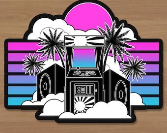 Age of Arcade Sticker