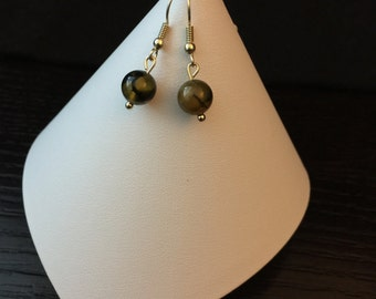 Fire Agate Earrings - Museum Lovers - Birthday Gifts - Anniversary Gifts