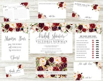 Wedding Invitations | Bridal Shower Invitations | Scarlet  Collection