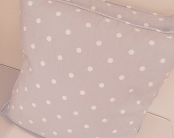 Clarke & Clarke spot fabric cushion pillow cover