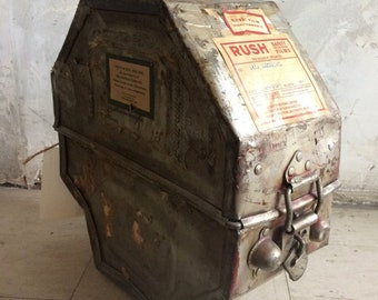Hollywood Film Co. Metal Film Canister from TV / Movie Prop Warehouse / Strangers on a Train