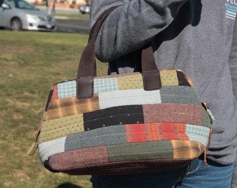 Bricks Bag [Bag Pattern with Frame]
