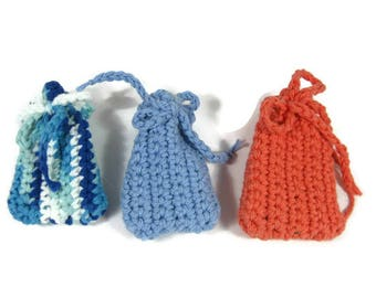 Refillable Crocheted Cotton Cat Nip Toy Ready to Ship You Choose the Color