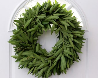 Bay Leaf Wreath - 20""