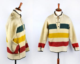 Vintage Hudson's Bay Pullover by Woolrich, Small