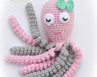 Crochet Octopus / Preemie Octopus / Ocpoti / 100% cotton