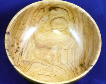 Hand Turned Wooden Bowl - Wild Cherry