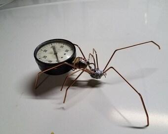 Steampunk Spider old gage