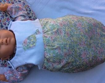 Doll clothes, sleeping bag Poppy and Daisy doll 52 cm