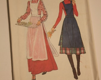 Simplicity # 8114 Apron pattern, from 1977