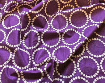 Pearl Bracelets 4116 P1 Purple  'Discounted Price' for Makower UK Patchwork, Quilting, Dressmaking Fabric