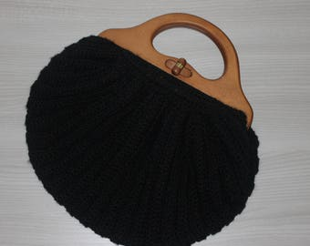 Wool Crochet Bag