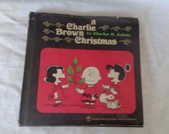 A Charlie Brown Christmas - Hardcover w/DJ - First Printing, 1975