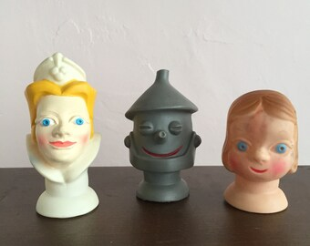 Vintage Puppet Heads Wizard of Oz Proctor Gamble Promotion 1965 FREE SHIPPING